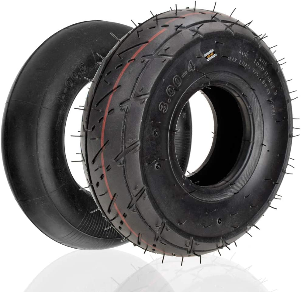 HIAORS 3.00-4 Tire Now free shipping Inner Tube With Bent for Stem Valve Razor E Max 49% OFF