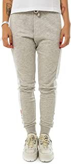 FILA Women's Freya Sweat Pants, (Light Melange/Bright White), Medium