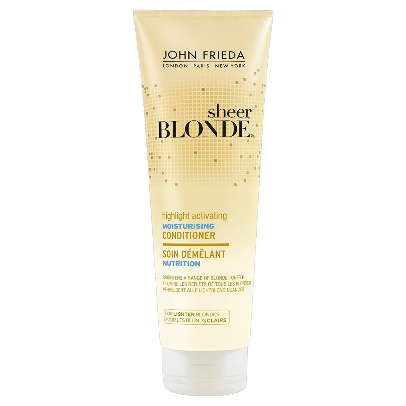 分布出くわす異常John Frieda Sheer Blonde Highlight Activating Moisturising Conditioner for Lighter Blondes 250ml