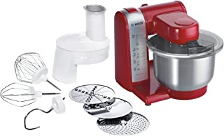 Bosch Kitchen Stand Mixer, MUM48R1GB, Red, 1 Year Brand Warranty