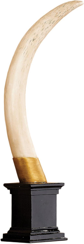Amazon Com Design Toscano British Colonial Elephant Tusk Sculptural Trophy Home Kitchen