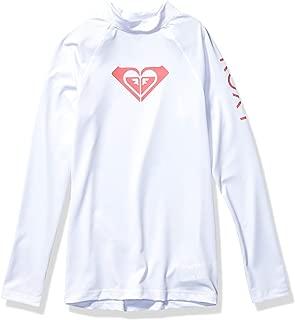 Women's Whole Hearted Long Sleeve & Short Sleeve Rashgaurd, Big Girls