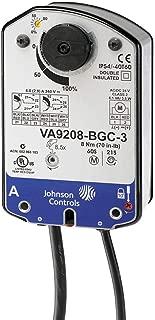 Johnson Controls VA9208-AGA-2 VA9208 Series On/Off and Floating Point Electric Spring-Return Actuator, 24 VAC, 120