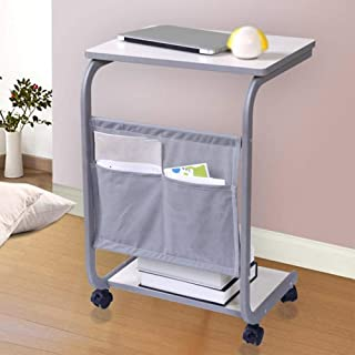 Table Notebook Laptop Desk Portable Standing Sofa Bed Table Multifunction Home Mobile Reading Books 2 Colors 48x33x66.5CM ...