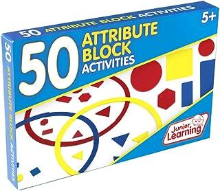 Junior Learning 50 Attribute Block Activities