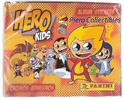 Panini Hero Enfants Box 50 Paquets Stickers