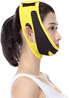 V-line Chin Cheek Lift Up Band voor vrouwen Facial Slimming Face Belt Draai het huidverband dubbel aan Verwijder gewichtsv...