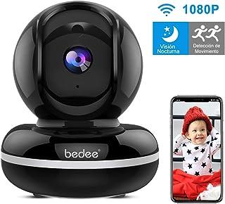 Camara Vigilancia WiFi Interior Camara Vigilancia Bebe con Audio Bidireccional| Alerta de Movimiento| Servicio de Nube|Seguridad WiFi FHD1080p| Compatible con iOS/Android