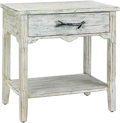 Amazon.com: VASAGLE - Soporte de noche vintage, mesa de 2 ...