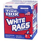 SELLARS WIPERS & SORBENTS 5820201 200CT Painters Rags