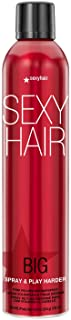 SexyHair Big Spray & Play Harder Firm Volumizing Hairspray | All Day Hold and Shine | Up to 72 Hour Humidity Resistance