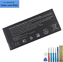 Batería de Repuesto BV -T5E Compatible con Microsoft Nokia Lumia 940 Lumia 940 XL Lumia 950, RM de 110, RM de 1104, RM de 1106