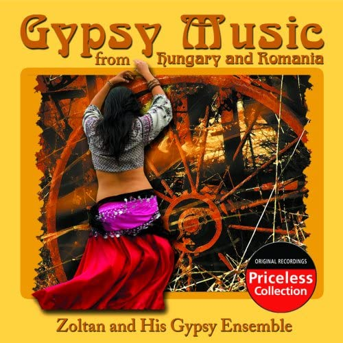 Gypsy Music From Hungary and Romania product image