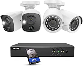 ANNKE Surveillance Camera System, 1080P 8CH DVR Home Security Camera System with 1TB HDD and (4) Ultra Clear 100ft Night V...