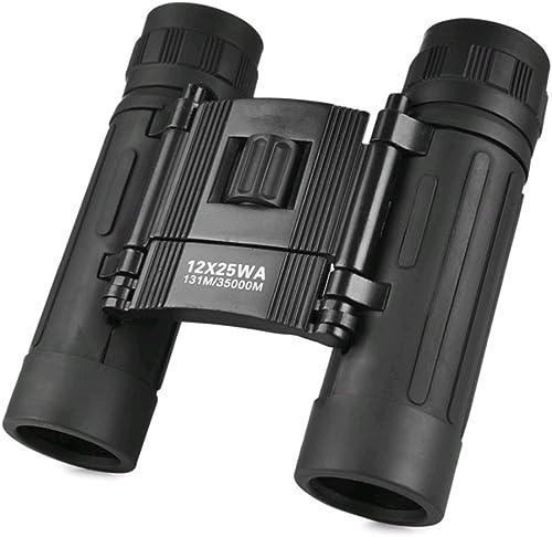 HAOBAO 12x25 Jumelles de Vision Nocturne Infrarouge Non-HD Haute Puissance Jumelles Perspective