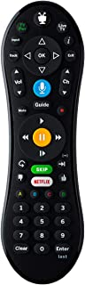 TiVo LUX Remote  Tivo Edge and TiVo Bolt, Video Streaming, Voice Command, See in The Dark Display, C00305