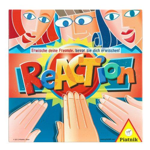 Piatnik 631771 - Reaction, Brettspiel