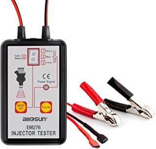 Automotive Injector Tester 4 Pluse Modes Powerful Fuel System 12V Scan Tool