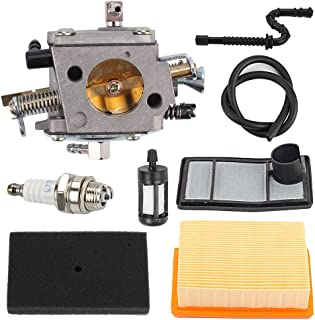 Yermax TS400 Carburetor with Air Filter Tune Up Kit for STIHL TS 400 Concrete Cut-Off Saw Replace HS-274E 4223-120-0600