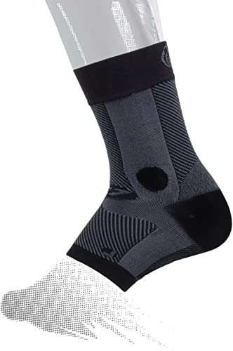OS1st AF7 Ankle Bracing Sleeve (Single Sleeve) stabilizes weak Ankles, assists with Ankle Instability and Inversion s...