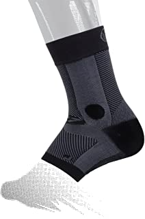 OS1st AF7 Ankle Bracing Sleeve (Single Sleeve) stabilizes weak Ankles, assists with Ankle Instability and Inversion sprains, and relieves Achilles tendonitis
