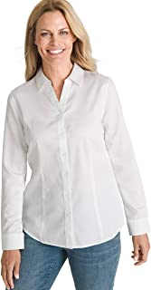 Women's No-Iron Sateen Caroline Shirt