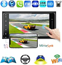 Car Radio Android 8.1 Universal Car Stereo with Bluetooth 7 inch HD Touch Screen Car MP5 Player WiFi GPS Map Mirror Link Rear View Camera DVR Subwoofer USB FM AUX USB 1G+16G for Toyota Corolla