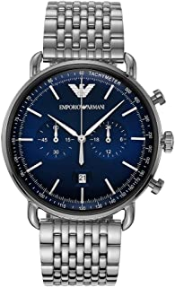 Emporio Armani Casual Watch For Men Chronograph Stainless Steel - AR11238