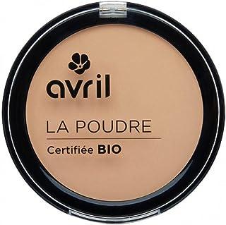 Avril - Cipria compatta certificata bio, colore: nude, 7g