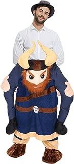 piggyback ride on riding shoulder adult costume