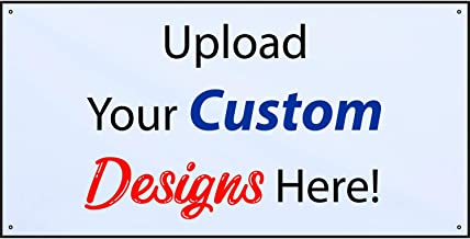 large personalised banner