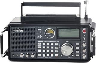 [EnergyPower] TECSUN S-2000 FMステレオ/AIR/LW/MW/SW SSB・エアバンド PLLシンセサイザーワールドバンドレシーバー 短波ラジオ プロフェッショナルBCL受信機 1000局プリセットメモリー デュアル...