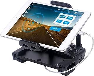 【6月セール】Smatree DJI Mavic Pro/Air/Spark 受信機用ブラケット, スマホ/タブレットホルダー,Apple USB充電ケーブル( MFI認証品)付き,ネックストラップ 360°回転 分解可能 日本語仕様書付き