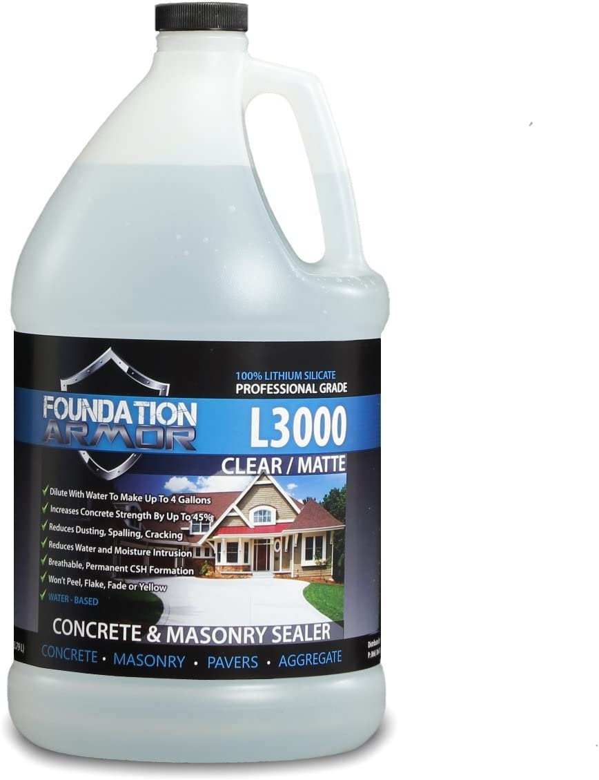1-Gal. L3000 Concentrated outlet Water-Based Densifier Silicate Lithium Tampa Mall