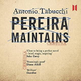 Pereira Maintains audiobook cover art