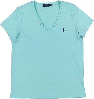 Ralph Lauren Polo Womens V-Neck Jersey T-Shirt