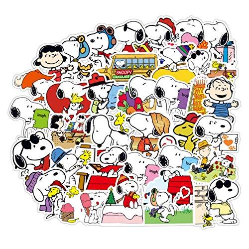 Barney erstklassiges Snoopy Cartoon Graffiti Aufkleber-Set Spielzeug Aufkleber für Gepäck Skateboard Motorrad Laptop Aufkleber 1