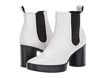 ECCO Shape Sculpted Motion 55 Chelsea Boot (Bright White) Women