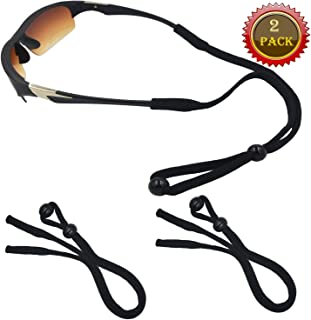 Adjustable Glasses Straps Eyewear Retainer, Universal Fit Rope Eyewear Retainer, Sport Unisex Sunglass Retainer Holder Strap, Set of 4 (Colour)