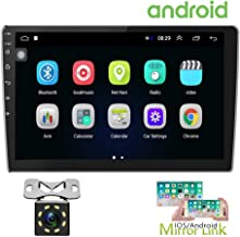 Hikity 10.1 Inch Android Car Stereo with GPS Double Din Car Radio Bluetooth FM Radio..