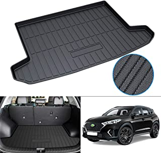 Powerty Trunk Mat All Weather TPO Rear Cargo Liner for Hyundai Tucson 2016 2017 2018 2019 2020 2021 Upgrade Material