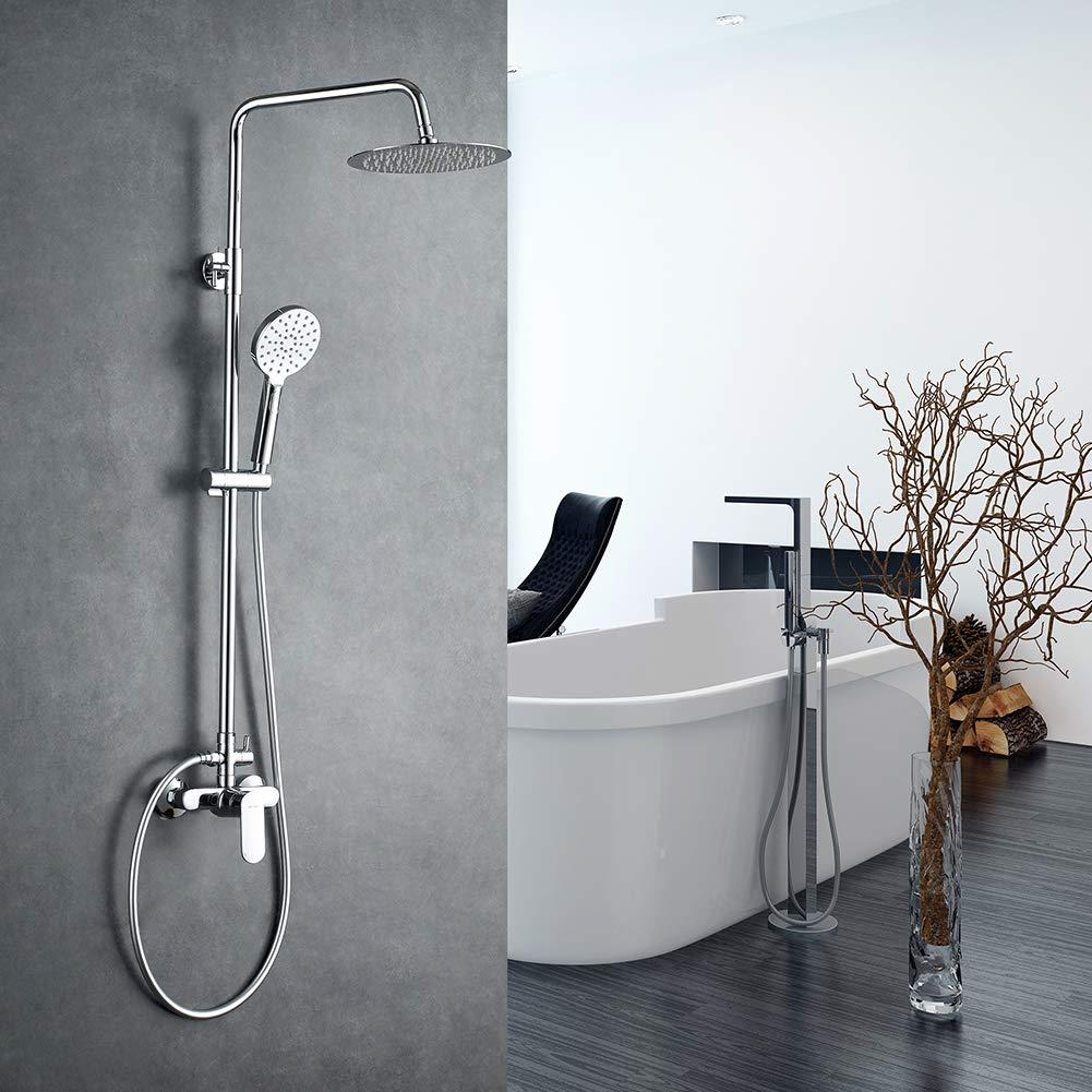 GRIFEMA Berlin - Columna monomando ducha con mezclador, alcachofa ...