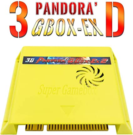 BLEE Pandora's Box 3D 3188 in 1 with 50 3D Games Arcade Game Jamma Board  1280x720 Multi Video Game Board for Arcade Machine