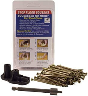 Squeeeek No More/O'Berry Counter Snap Kit (#3232) For Hardwood Floors with Replacement Pack