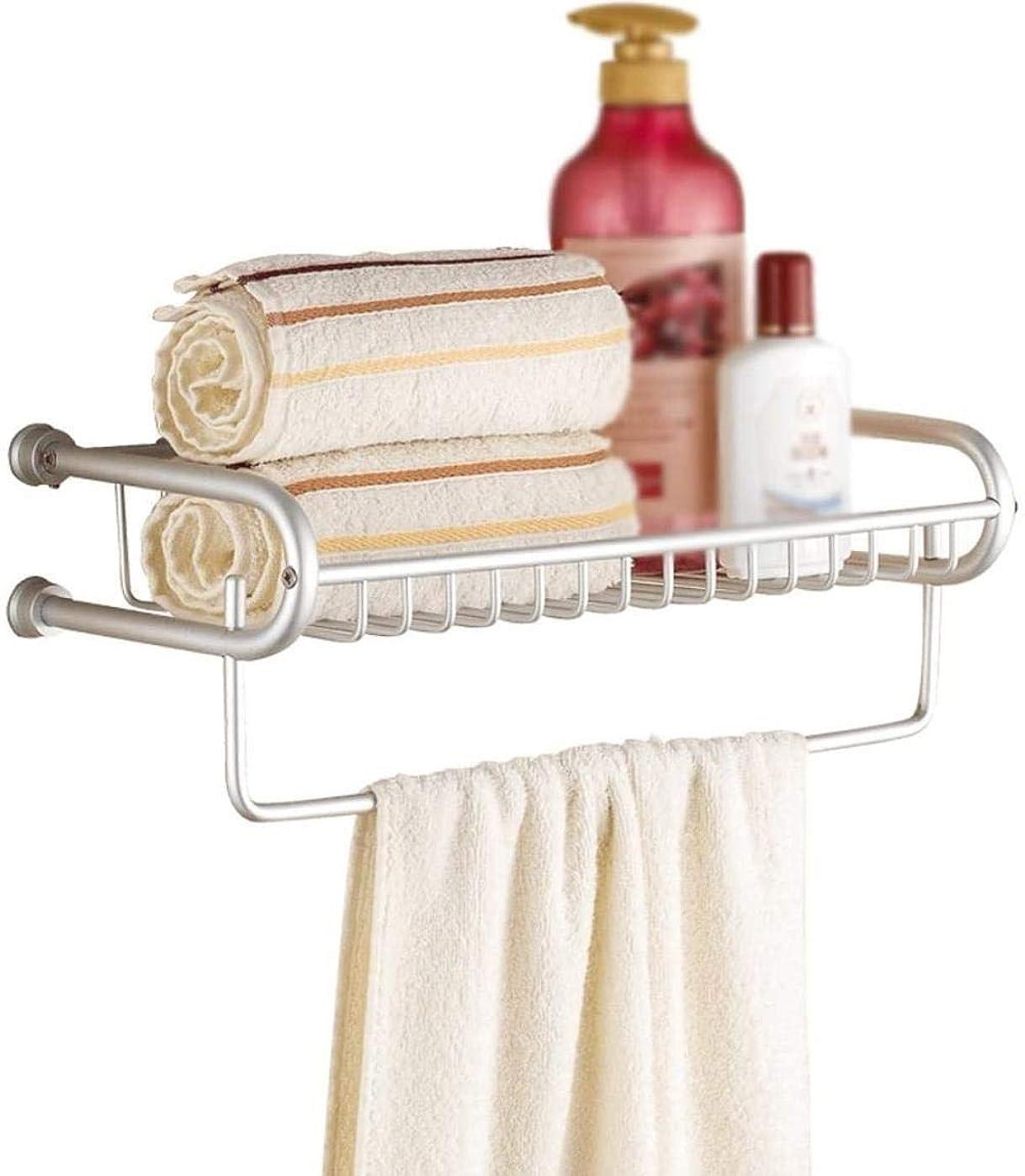 矛盾するソーシャル量浴室の棚タオルラックタオルバー厚みの多機能耐久性のあるバスルームのトイレランドリーウォールマウント LCSHAN