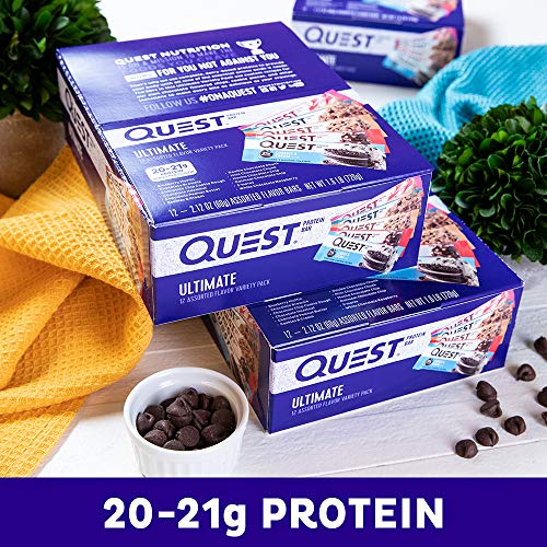 Quest Nutrition Ultimate Variety Pack (12 Count)