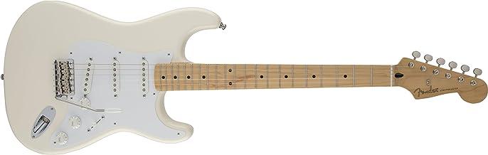 Fender 0139202305 Jimmie Vaughan Tex-Mex Strat Maple - Guitarra eléctrica para diapasón, color blanco olímpico