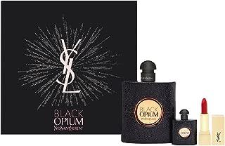 Black Opium by Yves Saint Laurent for Women, 3 Piece Set