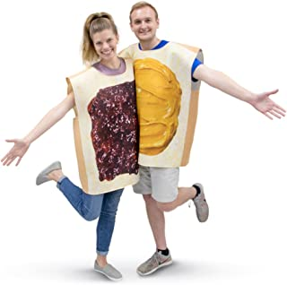 diy peanut butter jelly costume
