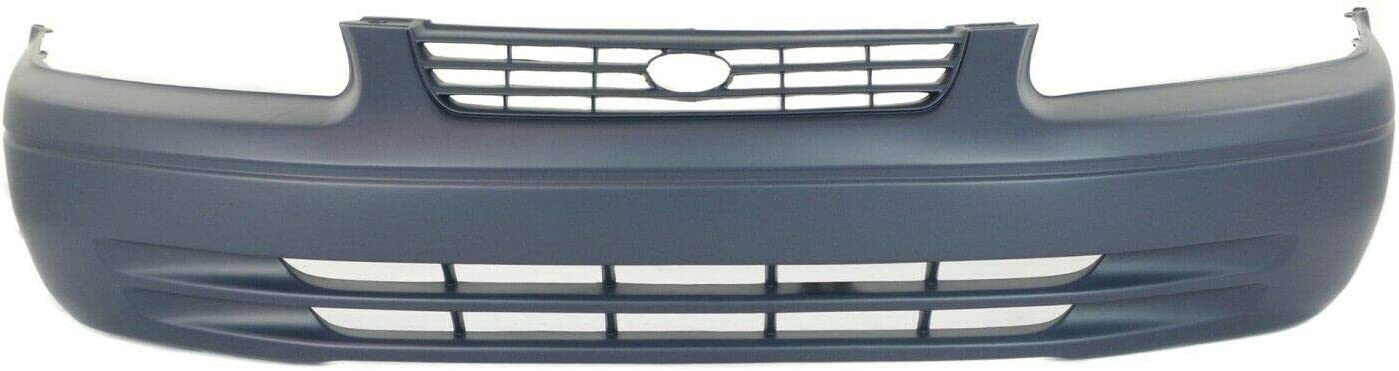 Front Bumper 5 popular Cover Safety and trust Replacement Compatible 1997-1999 with C Camry